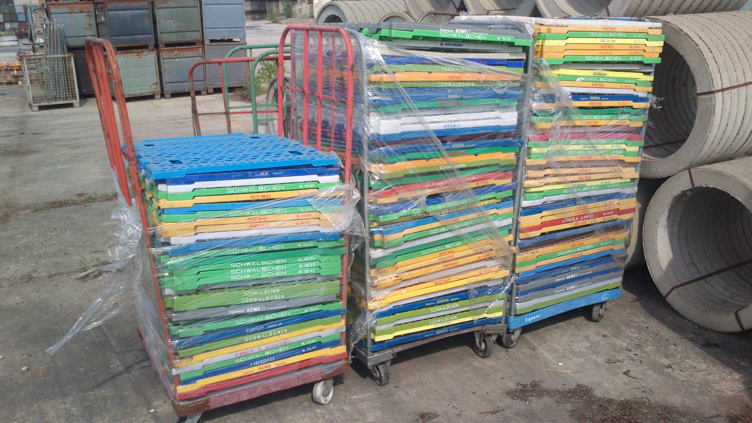 Kunststoffzwischenboden, gebraucht-0
