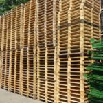 Holzpaletten QPM-120, gebraucht-2374