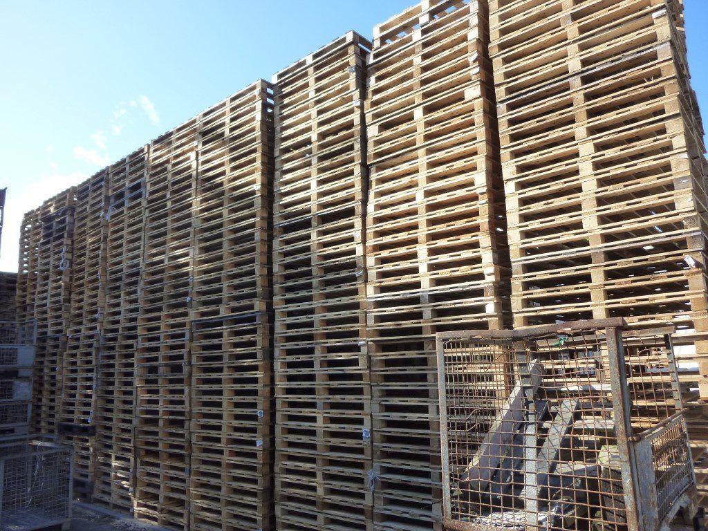 Holzpaletten QPM-120, gebraucht-2376