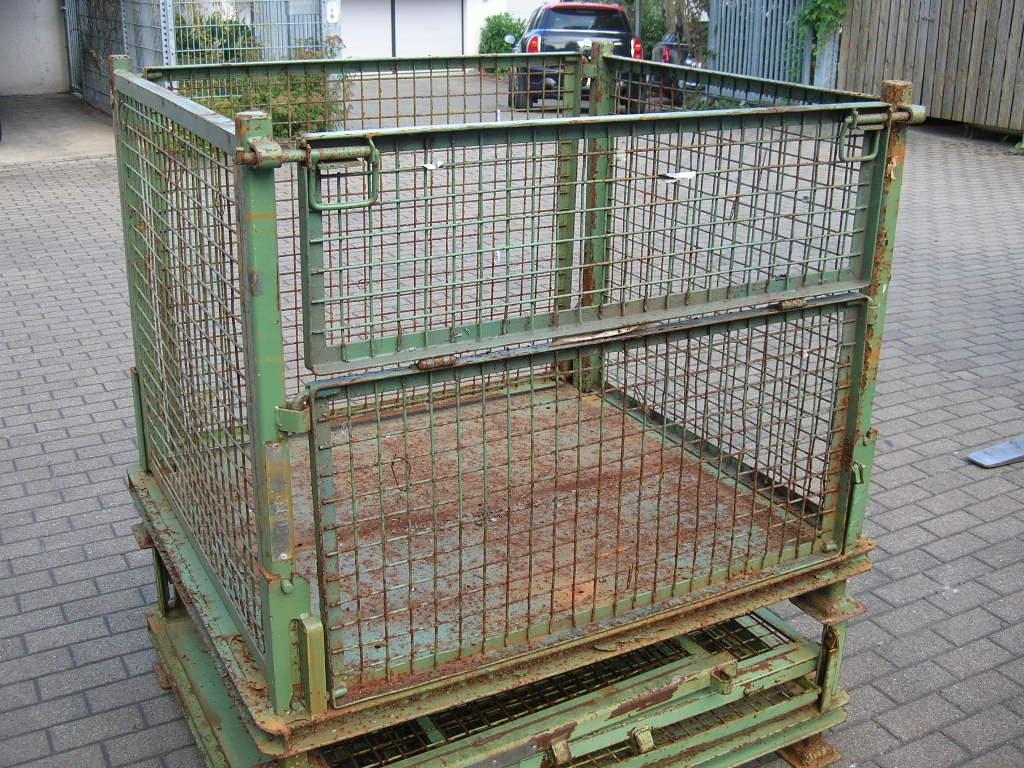 Klappgitterboxen T5-2032, gebraucht-0