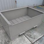 Stahlbehälter H57-MS3, neu-0
