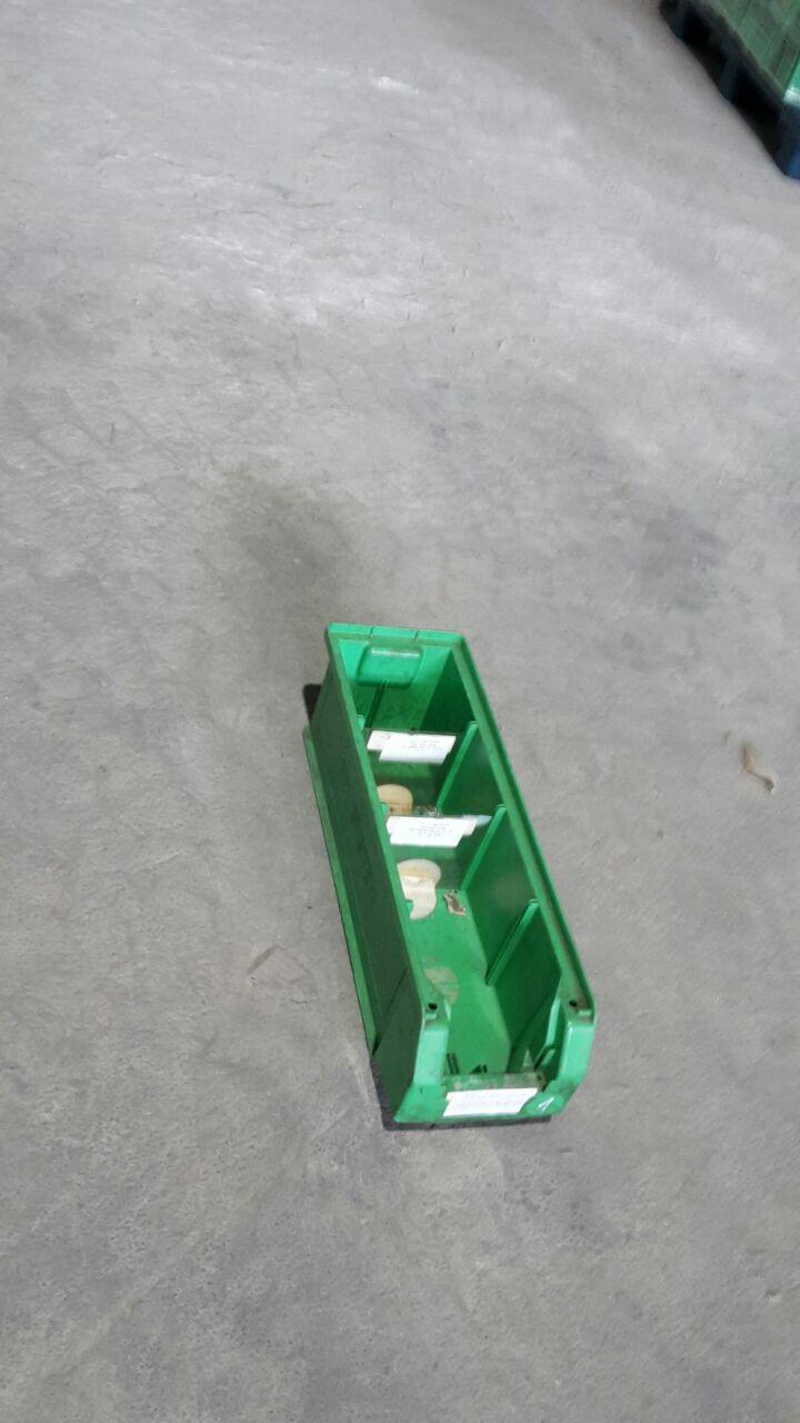 Kunststoffsichtlagerkästen 511, gebraucht-0