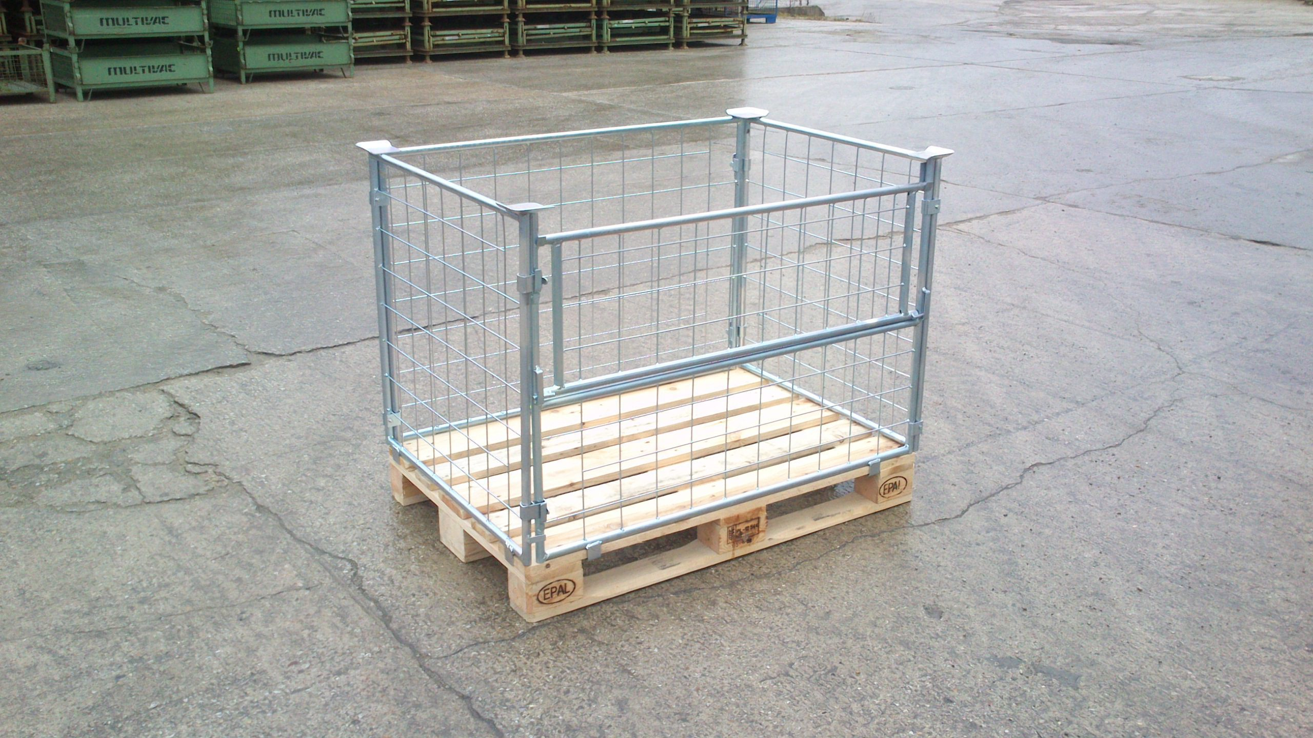 Gitteraufsatzrahmen EUL-H80-gvz, neu-0