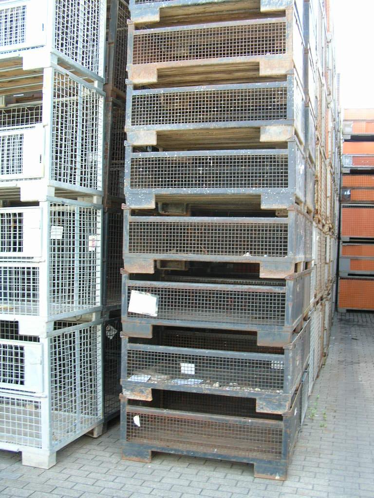 Gitterboxen H50-KTB, gebraucht-90