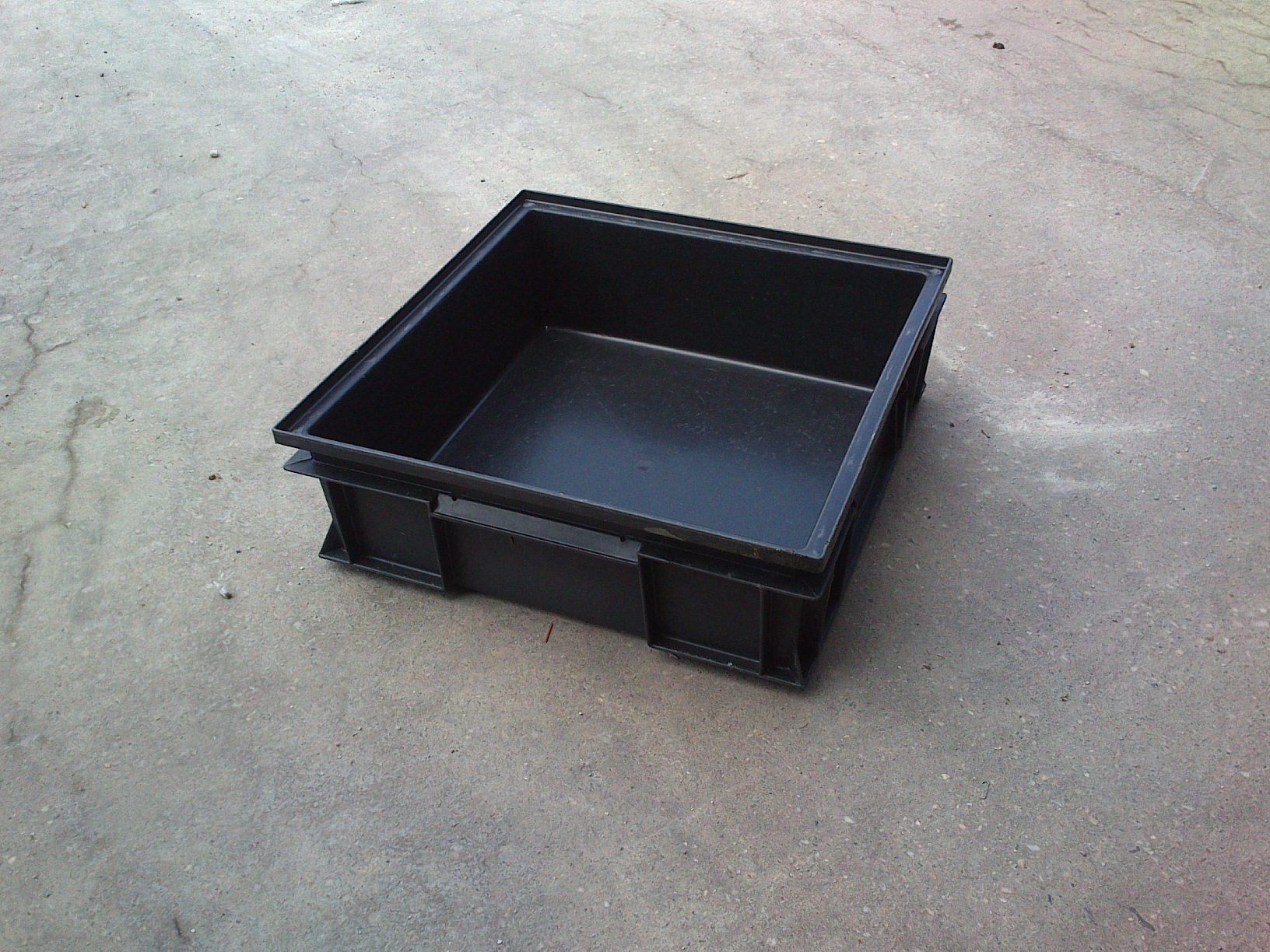 Kunststoffstapelkästen QPG-441, gebraucht-0