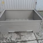 Stahlbehälter H57-MS1, neu-1398