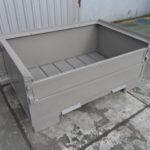 Stahlbehälter H57-MS1, neu-1399