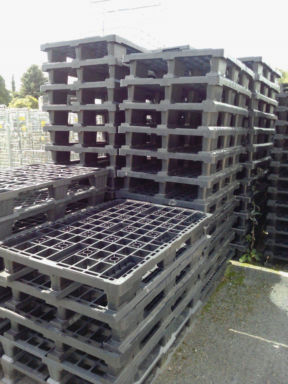 Kunststoffpaletten EUM, gebraucht