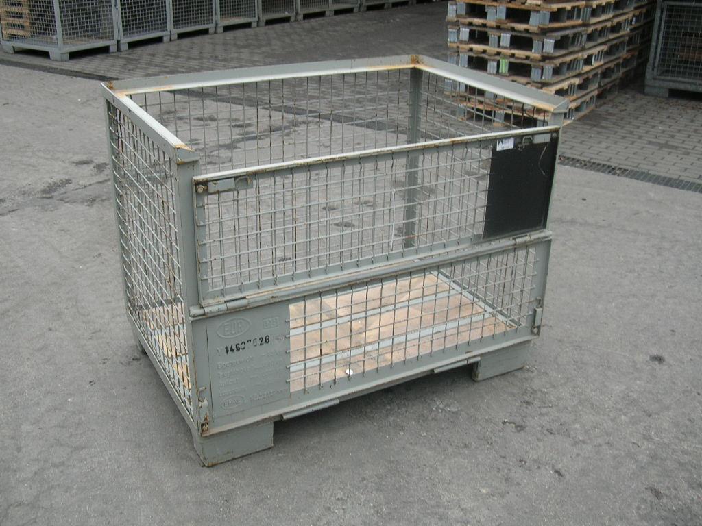 Eurogitterboxen, gebraucht mieten