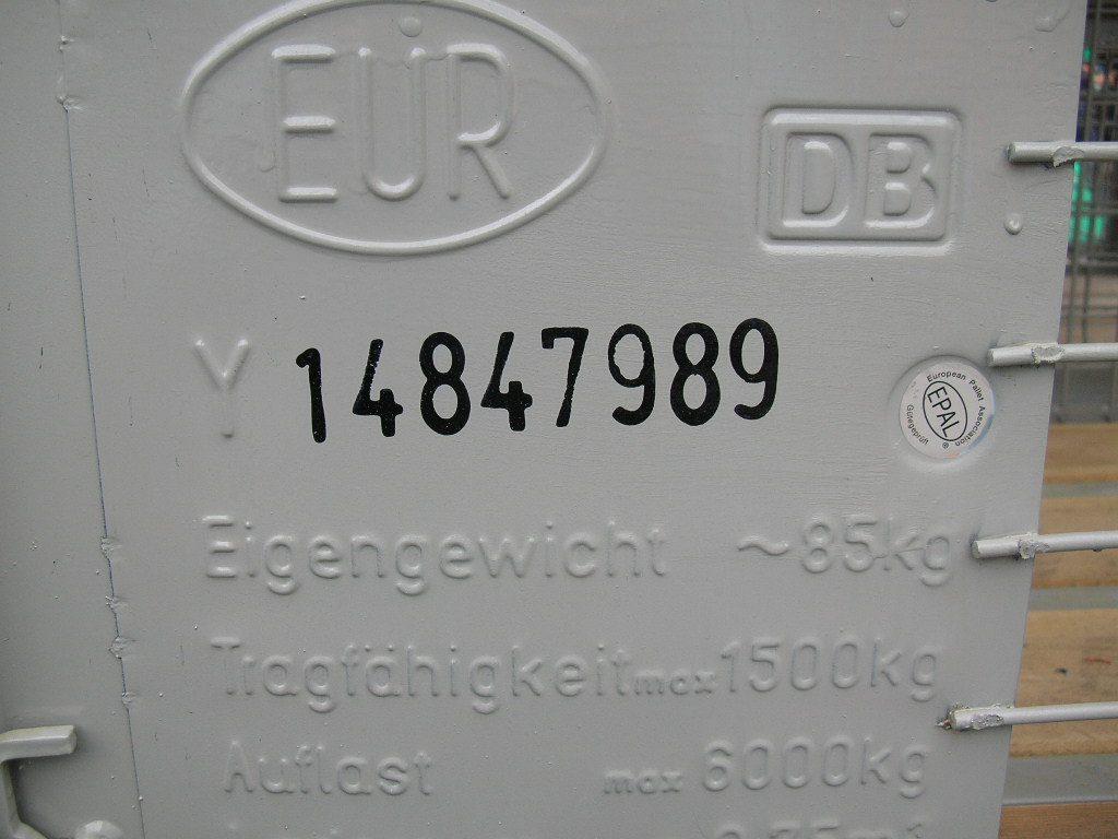 Eurogitterboxen, gebraucht-69