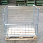 Gitteraufsatzrahmen EUL-H100-gvz, neu-1736