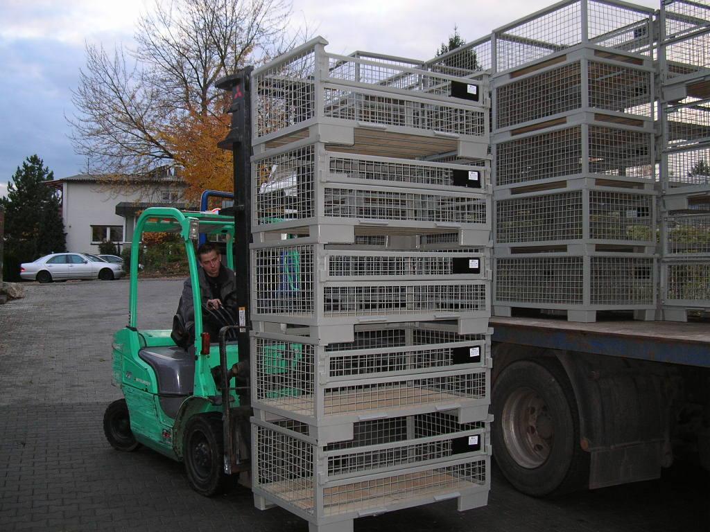 Gitterboxen H57-M01, neu-99