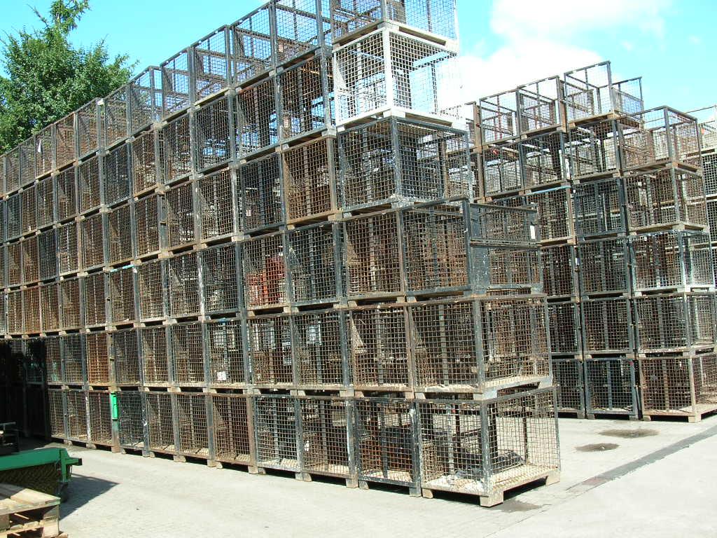 Gitterboxen KGE, gebraucht-111