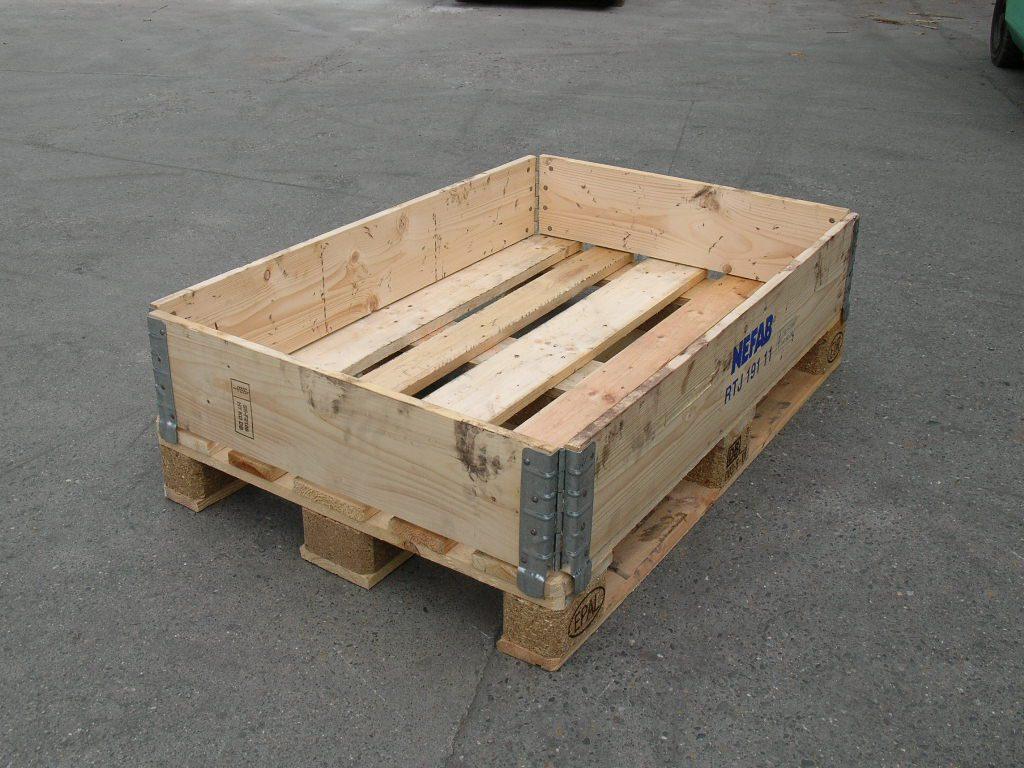 Holzaufsatzrahmen EUM-DIA, gebraucht-0