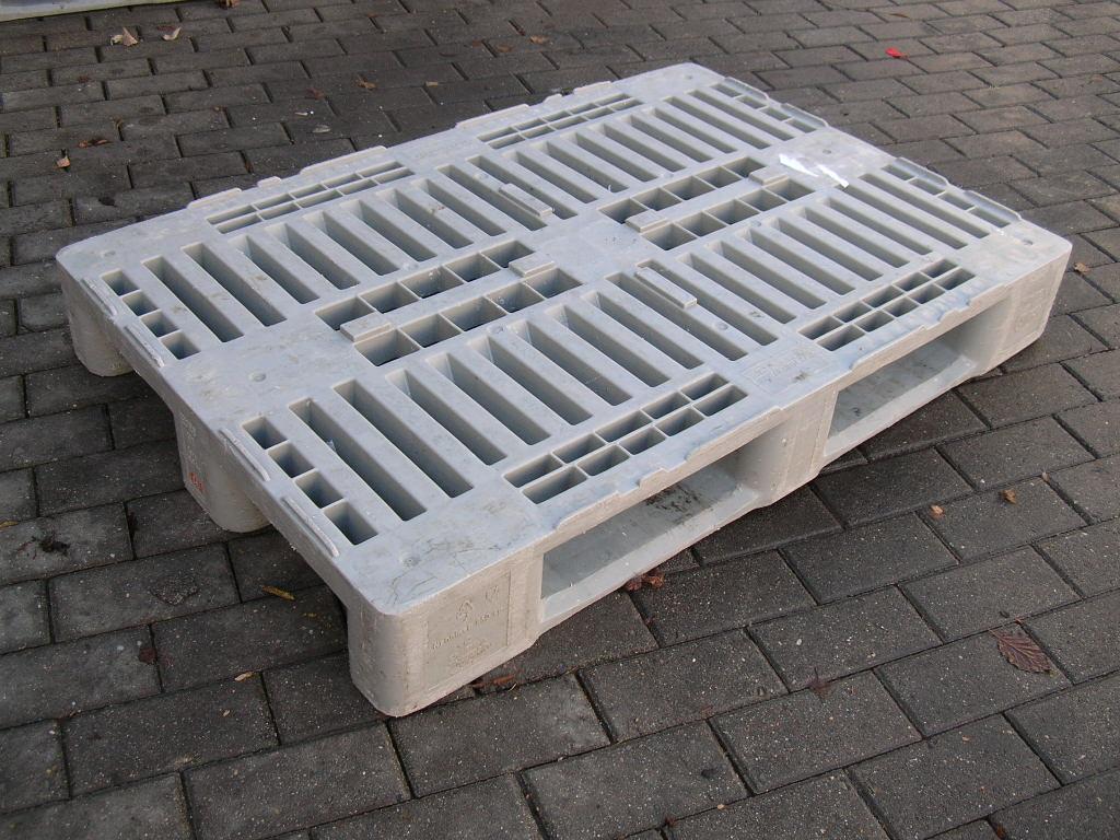 Kunststoffpaletten H1, gebraucht-0