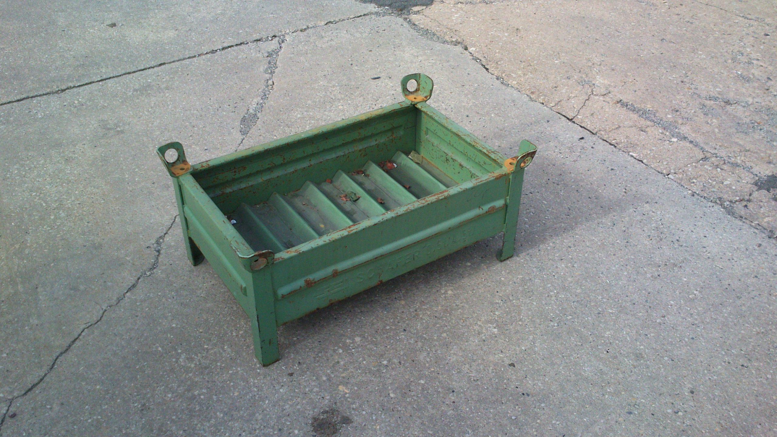 Stahlbehälter TSB-853, gebraucht-0