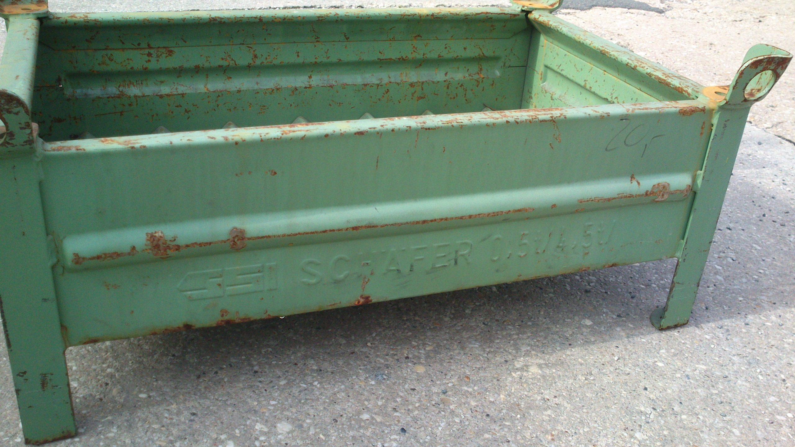 Stahlbehälter TSB-853, gebraucht-1636