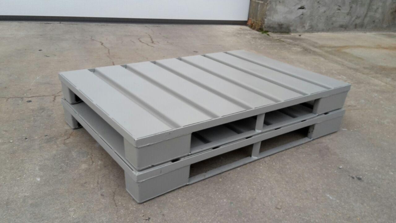 Stahlpaletten EUK-SSB, neu-0
