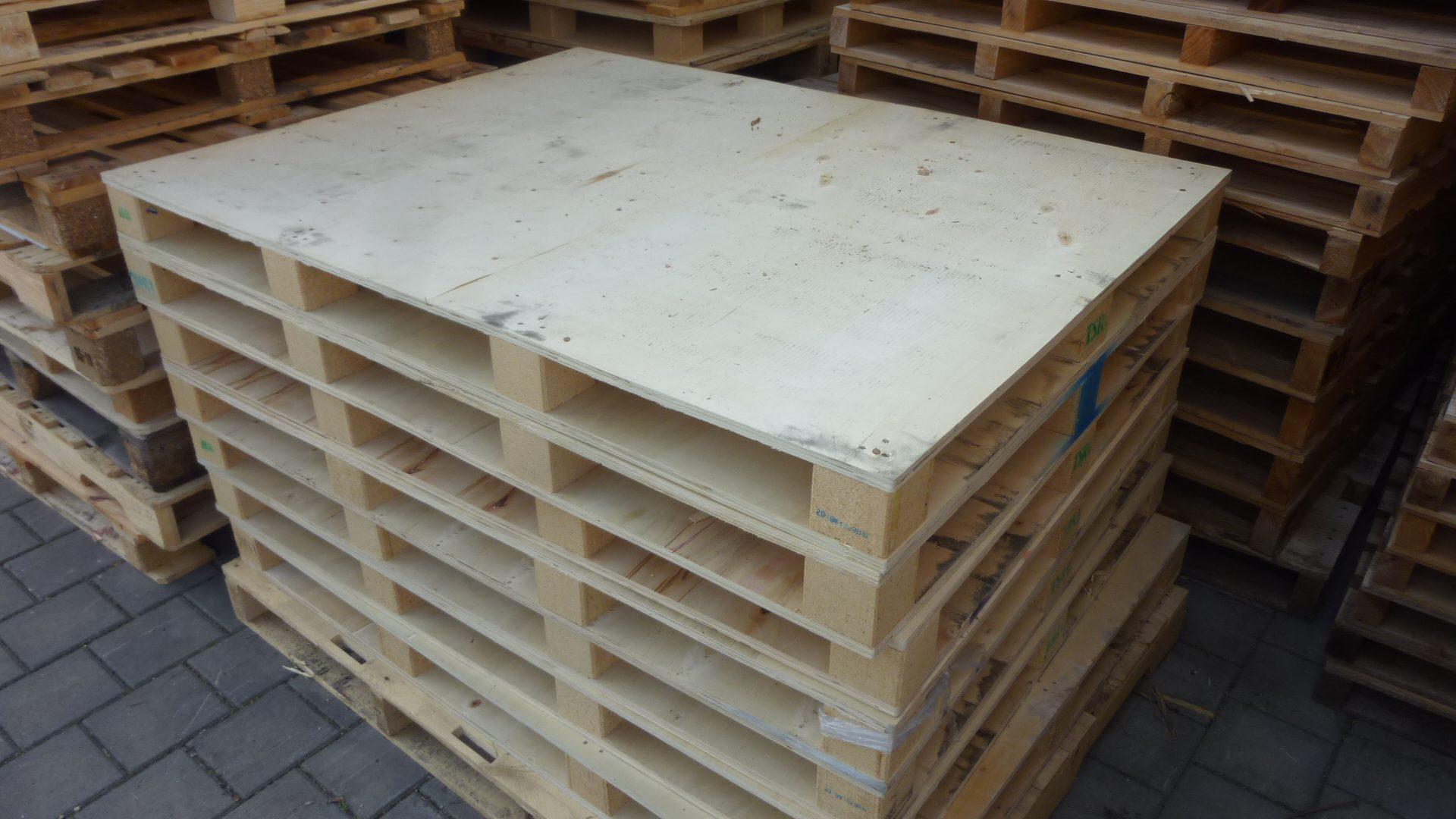 Sperrholzpaletten TSRC, gebraucht-0