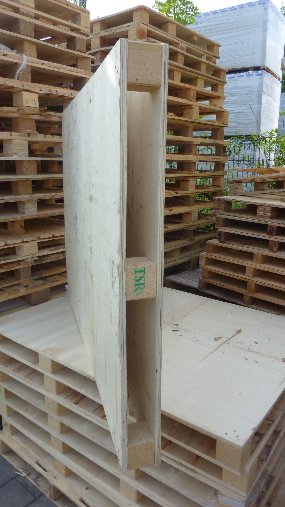Sperrholzpaletten TSRC, gebraucht-2297