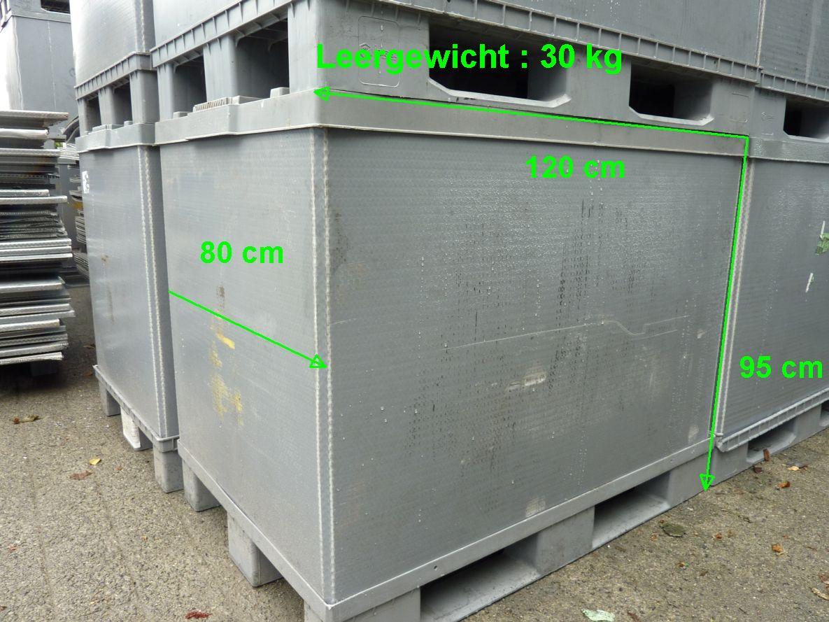 Faltkunststoffbehälter EUL-H95, gebraucht-0