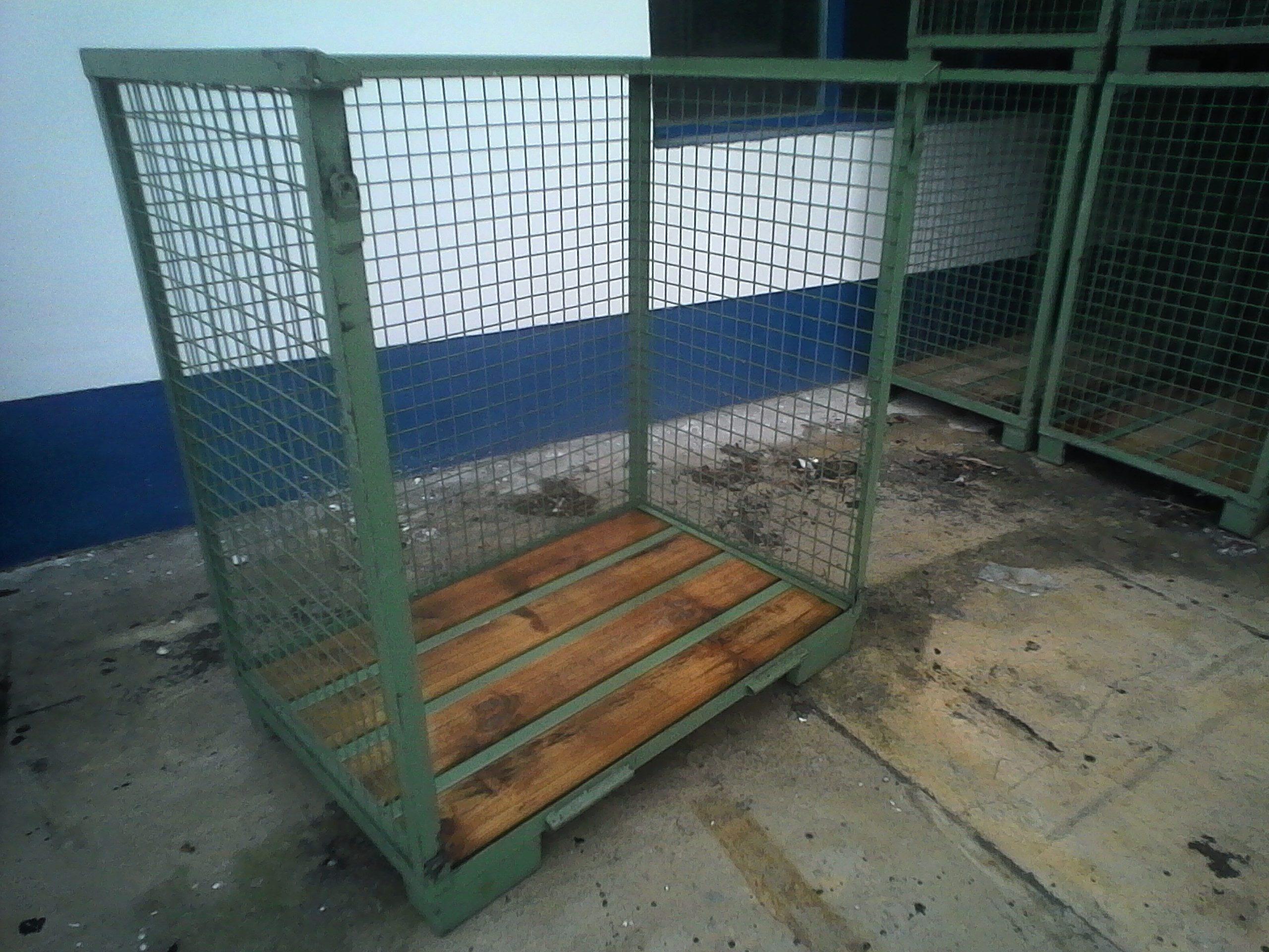 Gitterboxen IND-MHB-H120-1lo, gebraucht-0
