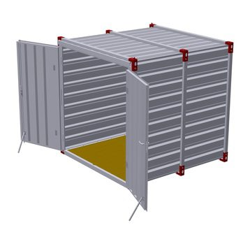 Stahlblechcontainer 225, neu-0