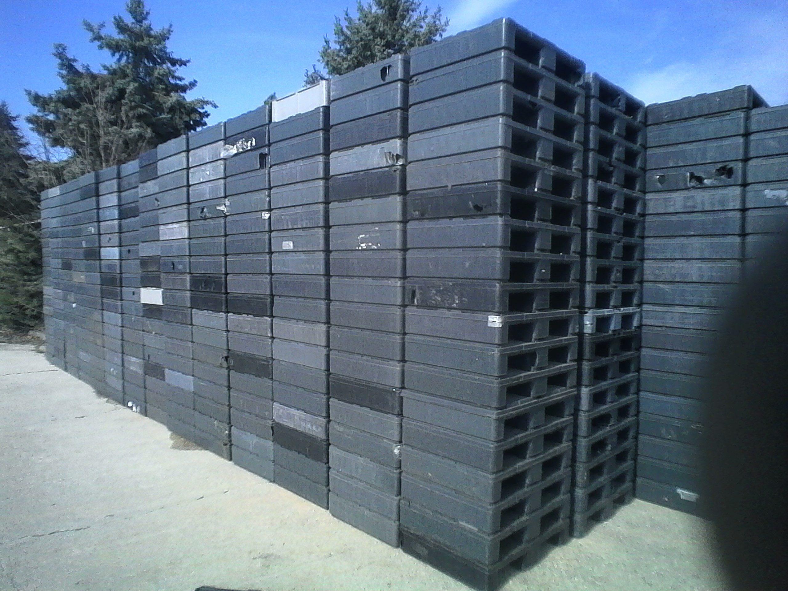Kunststoffpaletten HLB-SGT, gebraucht-0
