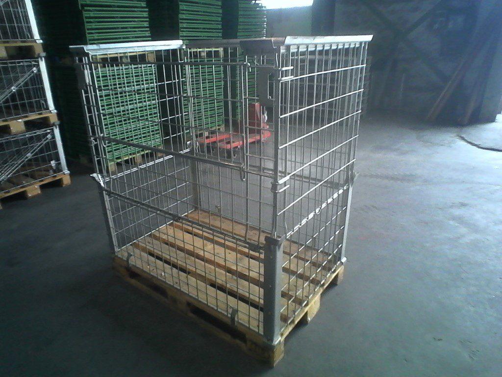 Faltgitterboxaufsatzrahmen EUM-H120-gvz, gebraucht